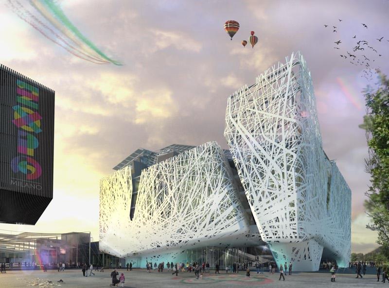 PALAZZO ITALIA: IL PROGETTO ARCHITETTONICO PER IL PADIGLIONE ITALIANO